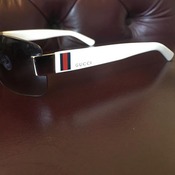 26987107daa Gucci Other - Men s White Gucci sunglasses